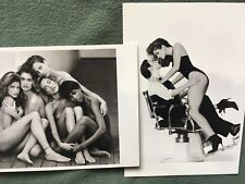 2 New Photo Postcards: k.d. lang and Cindy Crawford + Stephanie, Christy, Naomi