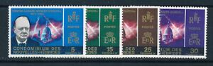 NEW HEBRIDES (FR) 1966 CHURCHILL COMMEMORATION SG F130/133 MNH
