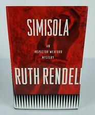 1995 Ruth Rendell Simisola Signed Hard Cover