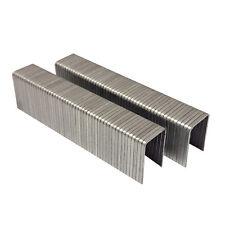 "T50 20 Ga. 1/2"" L x 3/8"" Crown Galvanized Fine Wire Steel Staple 1000/PK AT50-12"