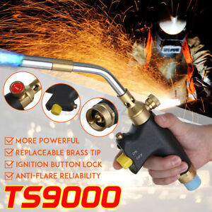 TS9000 For Bernzomatic Style Mapp Gas Kit Blow Torch Welding Soldering Brazing