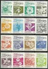 Timbres Flore Nicaragua 1248/63 ** lot 9523