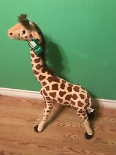 "Fiesta Toys Giraffe Standing Plush Stuffed Animal Toy by Plush, 34""/Large"