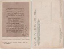 GABRIELE D'ANNUNZIO AVIATORE DI GUERRA - FIERA DEL LIBRO 1931