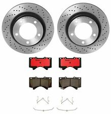 Brembo Front Brake Kit Ceramic Pads & Drilled Disc Rotors for Land Cruiser LX570