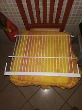 2 X MENSOLA FRIGORIFERO BIANCA PER PRIMA Frigorifero in Plastica Rivestito allungabile Rack