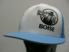 DUTCH MAFIA - BOISE - DUTCH BROS COFFEE - ADJUSTABLE SNAPBACK BALL CAP HAT!