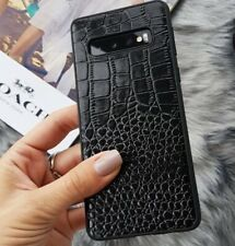 Genuine Leather Mobile Phone Case For Samsung galaxy A50 A70 S7 S8 S9 Plus S10