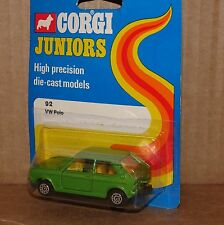 Corgi Juniors #92 Vw Polo (1976)