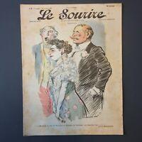 Le Sourire N° 4 du 18 Novembre 1899 - Illustrateur Herman & Lourdey