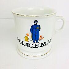 POLICEMAN Vintage Police Man Coffee Tea Mug Cup VTG