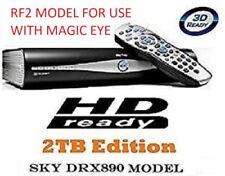 DRX890 2TB SKY+ HD BOX SATELLITE RECEIVER RF2 MODEL MASSIVE 2TB UPGRADE
