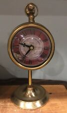 French country Clock On An Adjustable Stand.