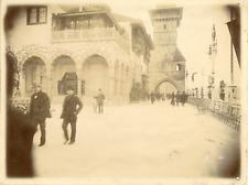 France, Paris, pavillon de la Bosnie-Herzégovine, pavillon de la Hongrie vintag