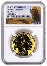 2013-W $50 1 Oz Reverse Proof Gold Buffalo NGC PF69 (Buffalo label) SKU32642