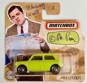 MATCHBOX - MR BEAN MINI COOPER **VHTF SHORT CARD**