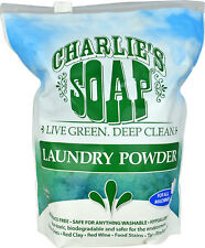 Charlie's Soap - Eco Friendly Unscented Laundry Powder - 100 loads - 2.64lbs