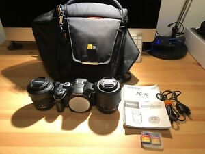 Pentax K-x with 18-55 WR & 50-200 WR lenses (EXCELLENT CONDITION)