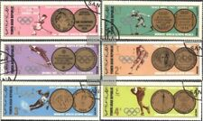 North Yemen 761-766 (complete issue) used 1968 olympic. Winter