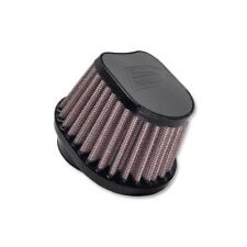 DNA Special Oval Grey Leather Top Air Filter, In: 50mm, L: 87mm, PN:OVI-5000-L-G