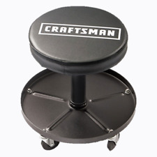 Craftsman Adjustable Pneumatic Mechanics Swivel Seat Garage Stool