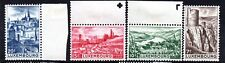 Luxembourg (2786) 1948  Tourist Propaganda part set Unmounted/LMM Sg5-6-9