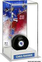 Chris Kreider New York Rangers Deluxe Tall Hockey Puck Case - Fanatics