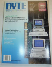 Byte Magazine Micro Channel Systems September 1988 120314R2