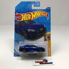 Audi RS 5 Coupe #118 * Blue * 2020 Hot Wheels * USA Case F * Q62