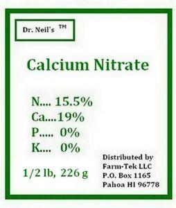 Dr. Neil's Calcium Nitrat(1/2 lb, 226 g) Fertilizer