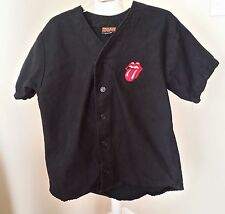 RARE ROLLING STONES 1994  VOO DOO LOUNGE CONCERT BASEBALL JERSEY SHIRT L AWESOME