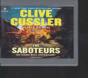 THE SABOTEURS by CLIVE CUSSLER ~ UNABRIDGED CD AUDIOBOOK