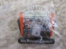 """2010 Buster Posey SF Giants """"Buster Posey Is An Instant Hit"""" Pin Sporting Green"""