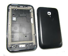 Fascia Housing Back Battery Cover For Samsung Galaxy Ace Plus S7500 Black UK