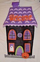 "Halloween Decoration Door Wall  Banner Haunted House Welcome 3-D  33"" L x 22 W"
