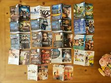 Lot of 18 Misc. DVD/Blu Ray Movie Artwork Inserts- NO MOVIES OR CASES