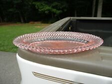 Vintage Miss America Pink Depression Glass / Oval Relish Tray