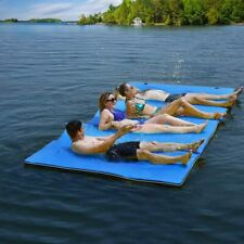 """3-Layer Floating Layer Water Pad 101x69.5"""" Floating Foam Utility Mat Relaxing US"""