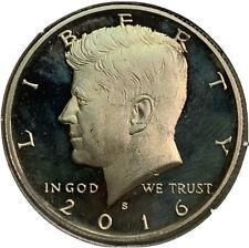 2016 S Proof Kennedy Half Dollar 50¢ Cent US Coin CV622