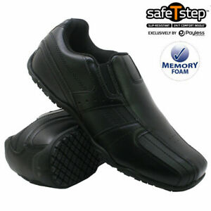 MENS CASUAL SLIP WIDE FIT MEMORY FOAM WALKING WORK LOAFER MOCCASIN DRIVING SHOES
