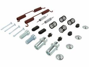 Rear Centric Parking Brake Hardware Kit fits Nissan NV2500 2012-2020 86DBFQ