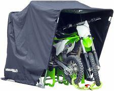 Quad Bike Motorcycle Motorbike Motocross MX Storage Garage Shelter Large Black