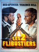 Plakat Kino Les 2 Buccaneers Terence Hill Bud Spencer - 120 X 160 CM