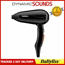 New Brand BaByliss Travel Hair Dryer 2000w Multi Voltage,Folding 5344U
