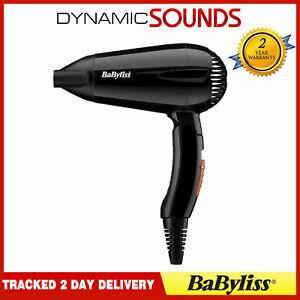 New Brand BaByliss Travel Hair Dryer 2000w Multi Voltage,Folding 5344U