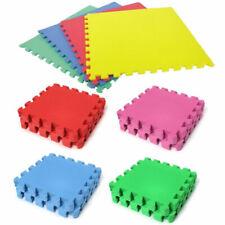 18Pcs Extra Thick Gym Flooring Interlocking Floor Mats EVA Soft Foam Mat Tiles