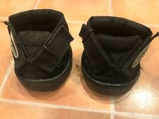 Pair Soft-Ride Equine Horse Comfort Boot Size 6L with Blue inserts