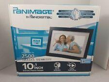 "Panimage by Pandigital LED-Backlit Digital Photo Frame 10.1"" Screen 1250 Photos"