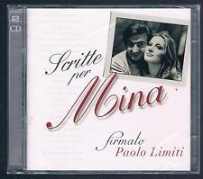 MINA SCRITTE PER MINA FIRMATO PAOLO LIMITI CD SIGILLATO!!!