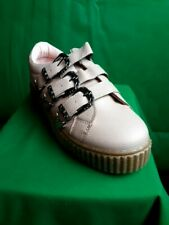 NEW ladies shoes salmon pink 3 buckle - sizes 3-8 UK